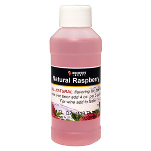 Brewer's Best Natural Raspberry Flavoring, 4oz