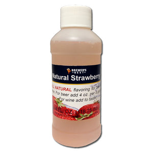 Brewer's Best Natural Strawberry Flavoring, 4oz