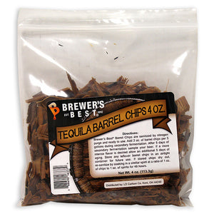 Tequila (Golden Agave) Barrel Chips, 4oz
