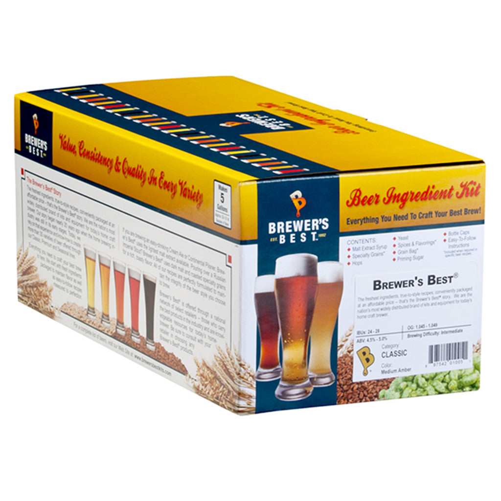 Brewer's Best Belgian Saison Kit
