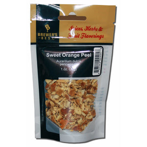 Brewer's Best Dried Sweet Orange Peel, 1oz