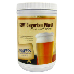 Briess Bavarian Wheat Malt Extract, 3.3lb