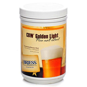 Briess Golden Light Malt Extract, 3.3lb