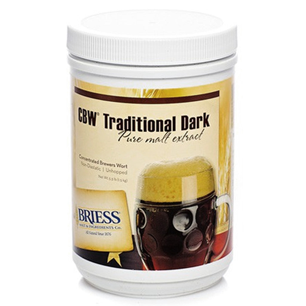 Briess Traditional Dark Malt Extract, 3.3lb