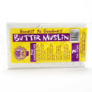 Butter Muslin (Fine Cheesecloth), 2 Sq. Yd.