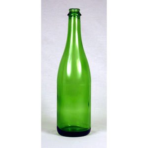 750mL Emerald Green Champagne Bottles - Case of 12
