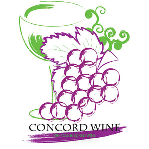 Concord Wine Wine Bottle Labels - 30-Pack