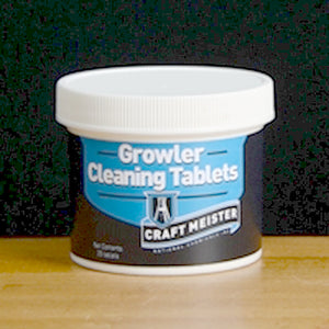 Craft Meister Growler Tablets - 25-Count