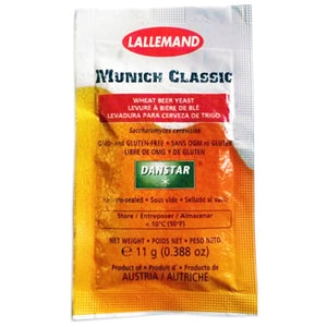 Lallemand Munich Classic Wheat Beer Yeast, 11g