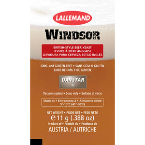 Danstar Windsor Ale Yeast, 11g