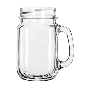 Libbey Drinking Jar (97084), 16oz