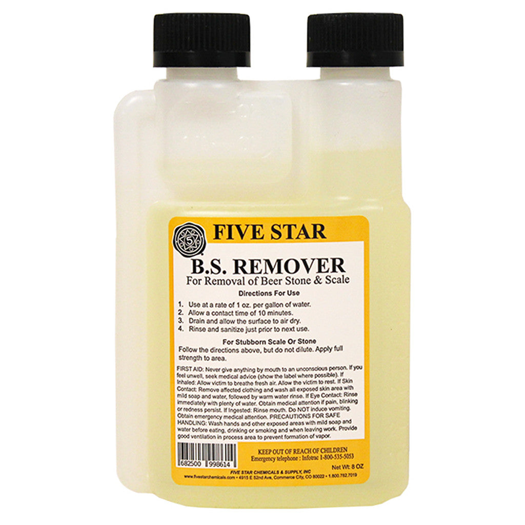 Five Star Beer Stone Remover, 8oz