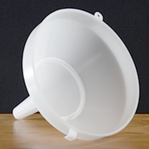 Plastic Funnel with Strainer