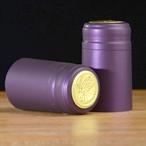 Heat-Shrink Wine Bottle Capsules