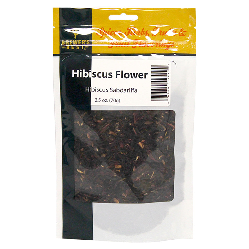 Brewer's Best Hibiscus Flowers, 2.5oz