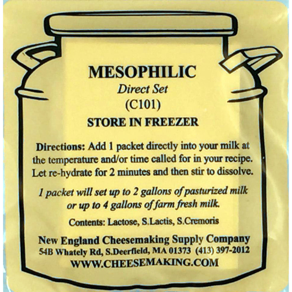 Mesophilic Direct Set Cheese Culture - 5-Pack