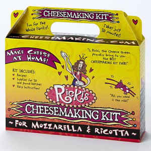30-Minute Mozzarella & Ricotta Cheese Making Kit