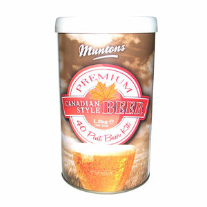 Muntons Canadian Style Beer Kit, 3.3lb