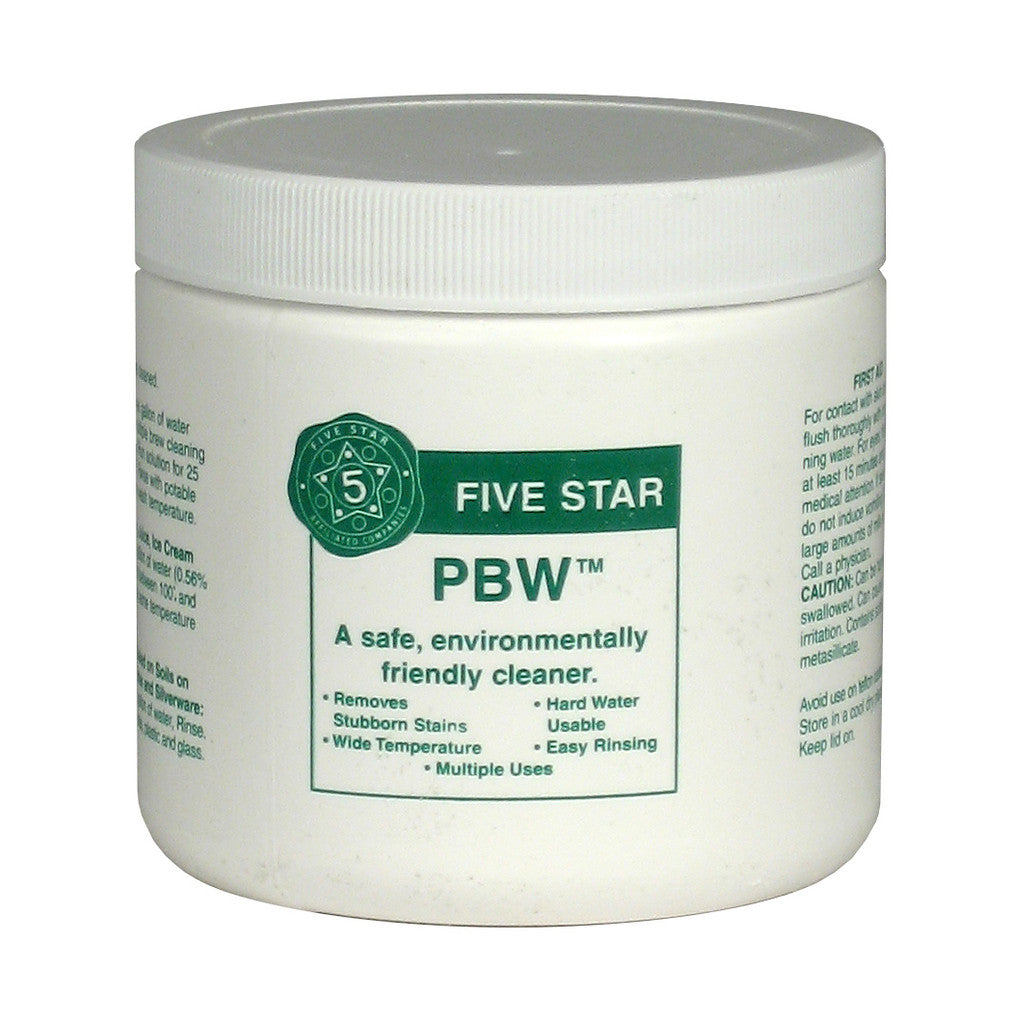 Five Star PBW - Powdered Brewery Wash, 1lb