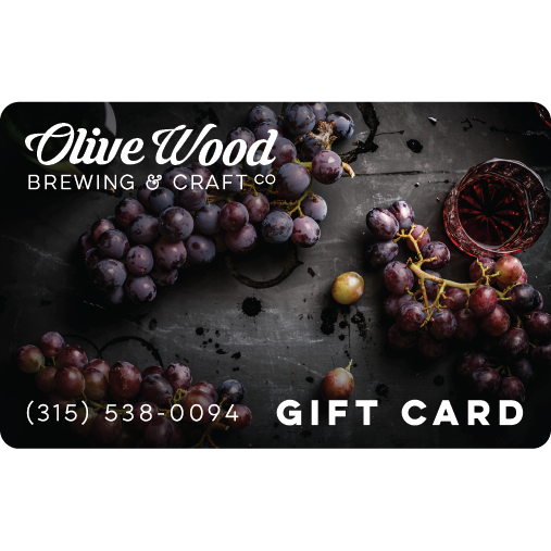 Gift Card - Wine and Grapes Design