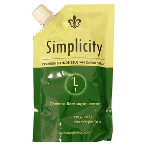 Simplicity Blonde Candi Syrup (1 SRM), 1lb