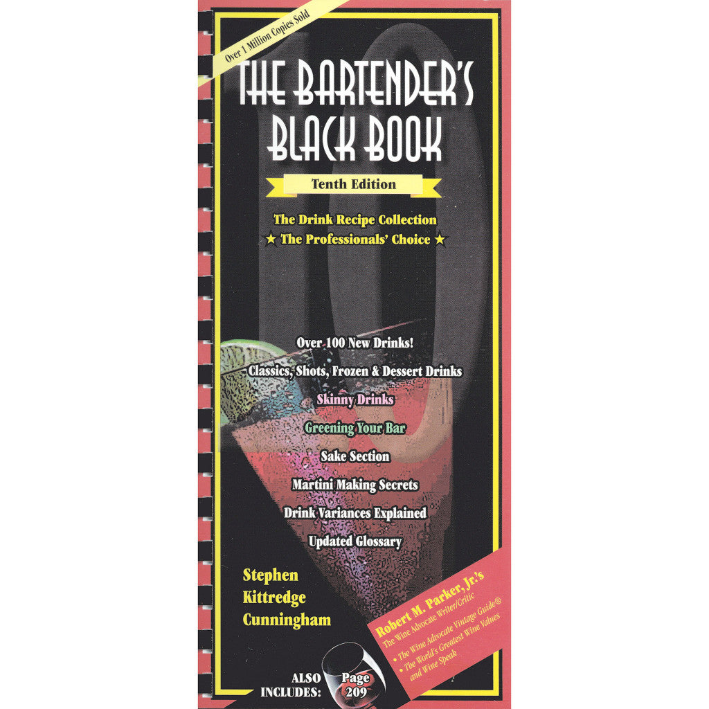 The Bartender's Black Book, 10th Edition