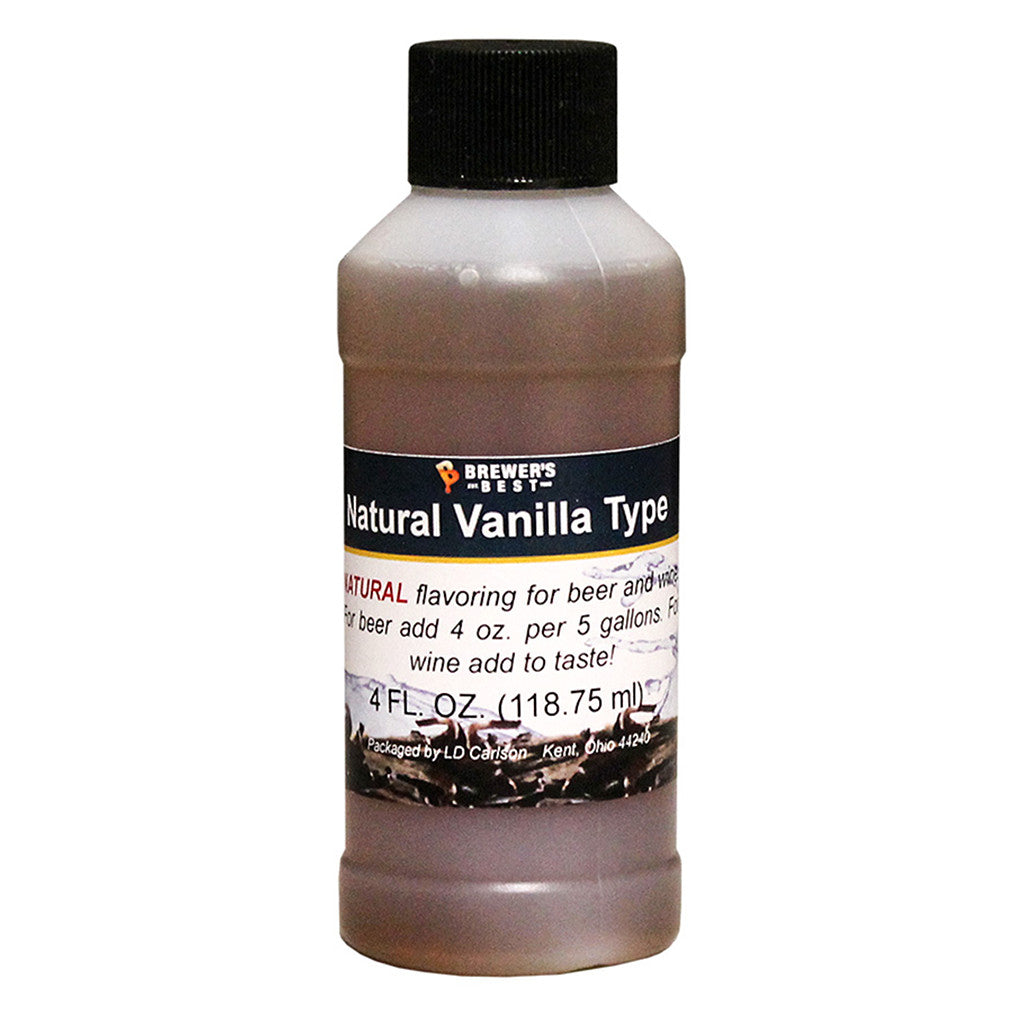 Brewer's Best Natural Vanilla Flavoring, 4oz