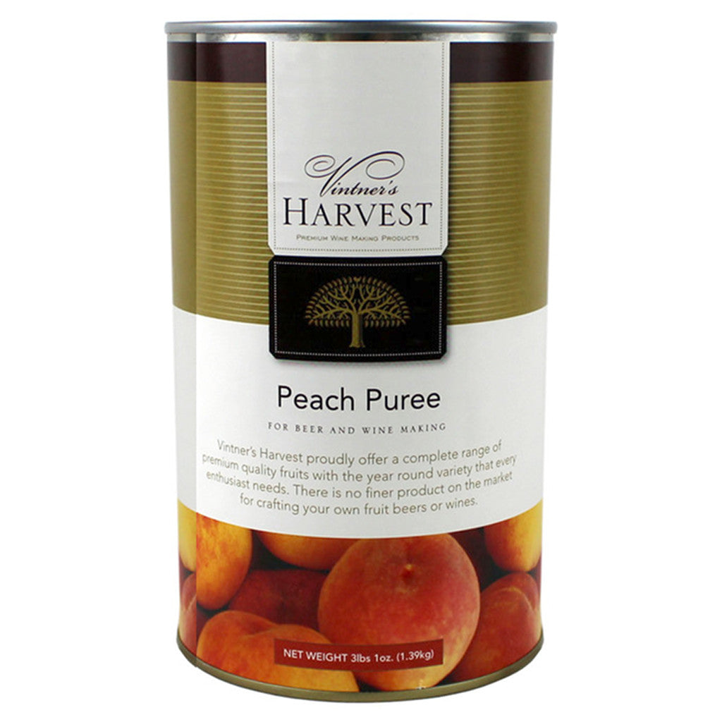 Vintner's Harvest Peach Puree, 49oz
