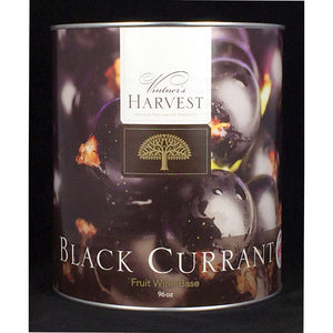 Vintner's Harvest Black Currant Fruit Wine Base, 96oz