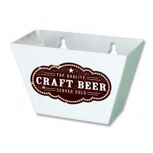 'Craft Beer' Wall Mount Bottle Cap Catcher