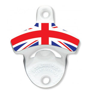 British Flag Wall Mount Bottle Opener