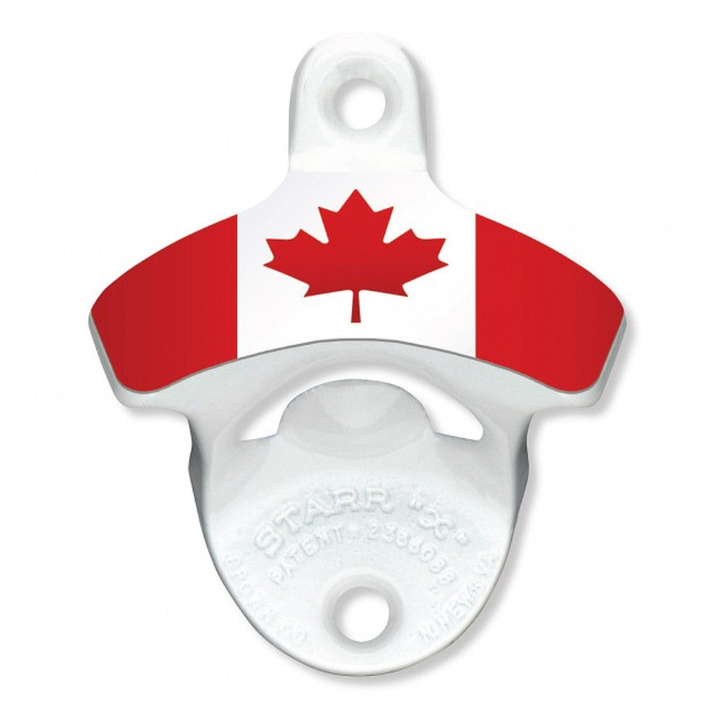 Canadian Flag Wall Mount Bottle Opener