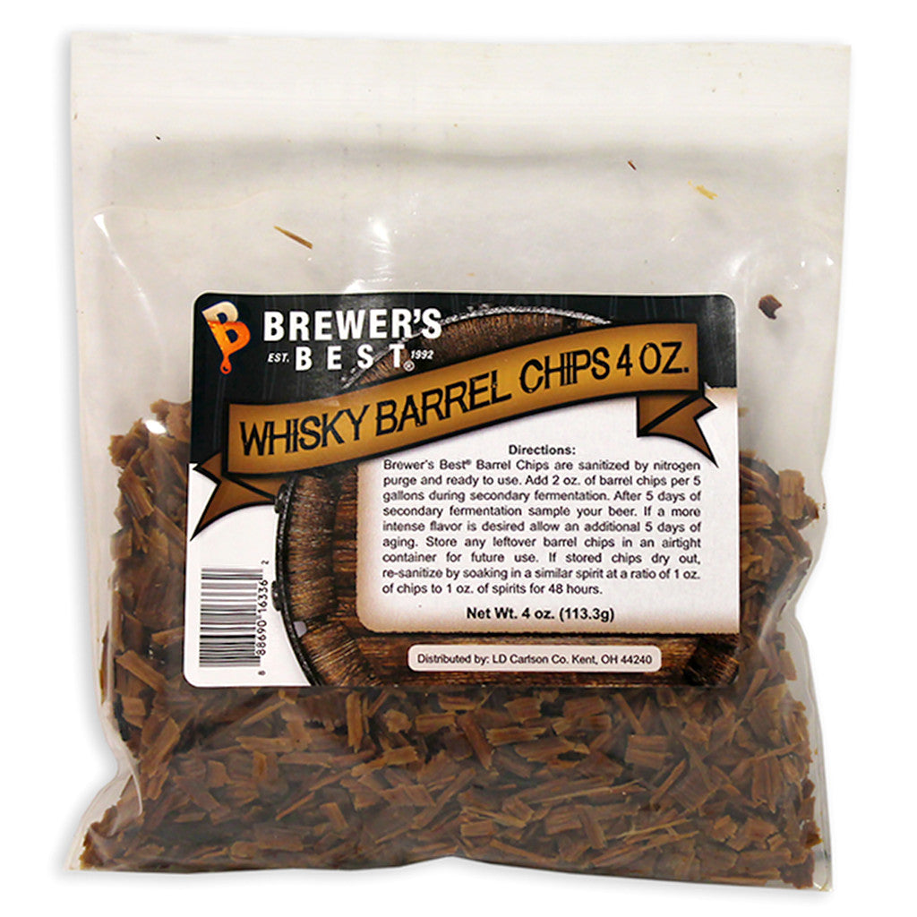 Whisky Barrel Chips, 4oz