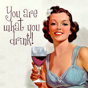 'You Are What You Drink' Cocktail Napkins - 20-Pack