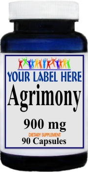 Agrimony 900mg 90caps Private Label 100 Bottle Price