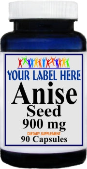 Private Label Anise Seed 900mg 90caps Private Label 12,100,500 Bottle Price