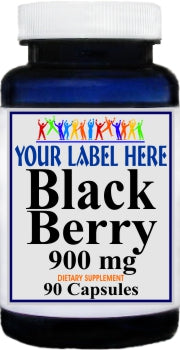 Private Label Black Berry 900mg 90caps Private Label 12,100,500 Bottle Price
