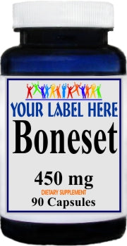 Private Label Boneset 450mg 90caps Private Label 12,100,500 Bottle Price