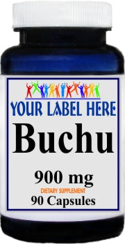 Private Label Buchu 900mg 90caps Private Label 12,100,500 Bottle Price