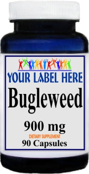 Private Label Bugleweed 900mg 90caps Private Label 12,100,500 Bottle Price