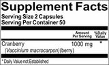 Private Label Cranberry 1,000mg 100caps or 200caps Private Label 12,100,500 Bottle Price