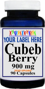 Cubeb Berry 900mg 90caps Private Label 25,100,500 Bottle Price
