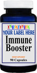 Private Label Immune Booster 90caps or 180caps Private Label 12,100,500 Bottle Price