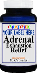Private Label Adrenal Exhaustion Relief 90caps Private Label 12,100,500 Bottle Price