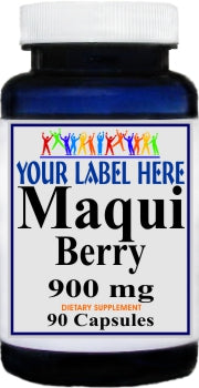Private Label Maqui Berry 900mg 90caps Private Label 12,100,500 Bottle Price