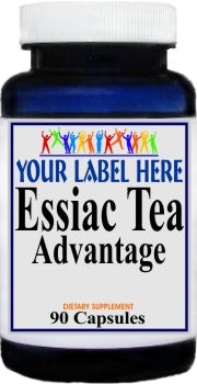 Private Label Essiac Tea Advantage 90caps or 180caps Private Label 12,100,500 Bottle Price