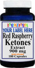 Private Label Red Raspberry Ketones Extract 900mg 180caps Private Label 12,100,500 Bottle Price