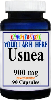 Private Label Usnea 900mg 90caps Private Label 12,100,500 Bottle Price