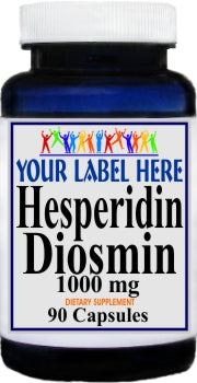 Private Label Hesperidin Diosmin 90caps or 180caps  Private Label 12,100,500 Bottle Price
