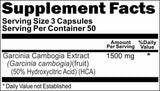Private Label Garcinia Cambogia Extract HCA 1500mg 90caps or 180caps Private Label 12,100,500 Bottle Price